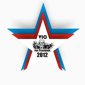 Megadeth Vic For President 2012 by JamesChaffin