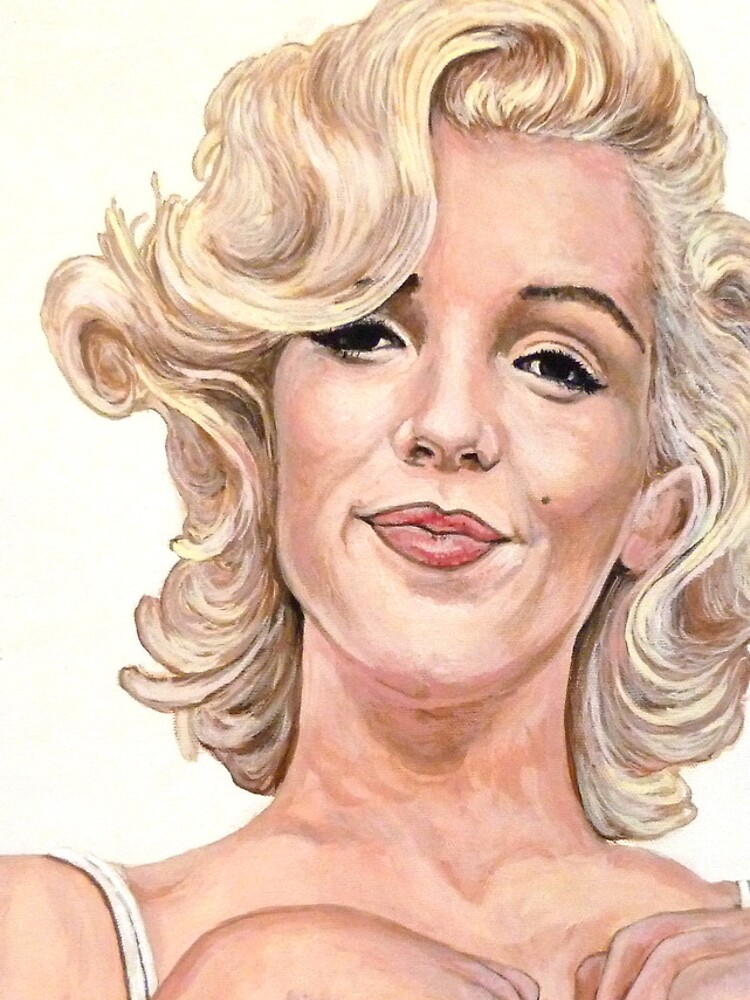 Marilyn Monroe by donnaroderick