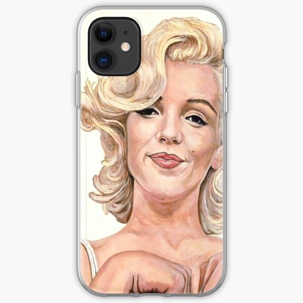 Marilyn Monroe iPhone Soft Case