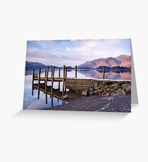 Ashness Jetty - Derwentwater - The Lake District Greeting Card