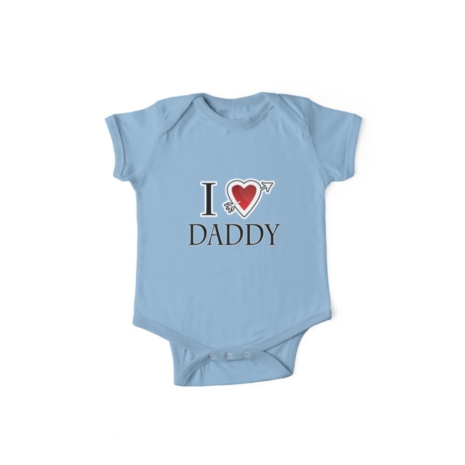 i love daddy heart  by Tia Knight