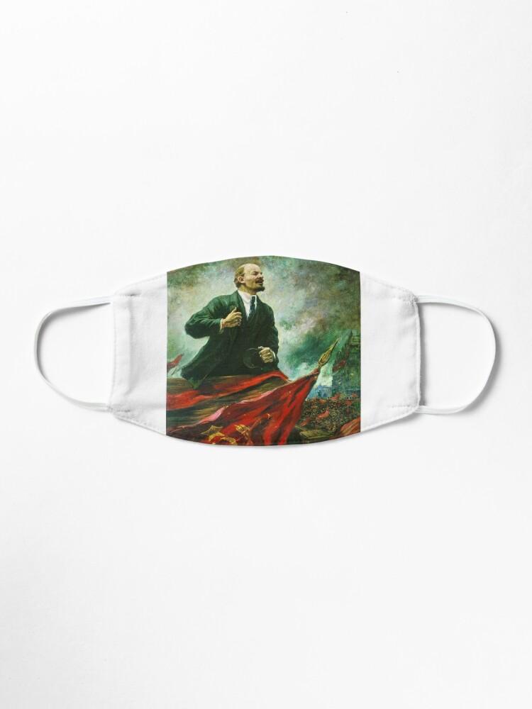 Alternate view of Александр Герасимов. Ленин на трибуне, 1930, Музей В.И.Ленина, г. Москва Mask