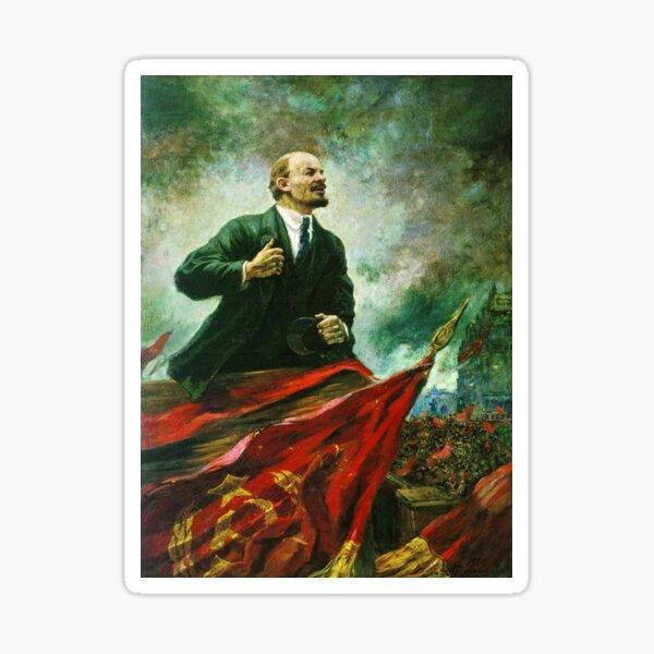 Александр Герасимов. Ленин на трибуне, 1930, Музей В.И.Ленина, г. Москва Sticker