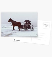 Amish Drive-By Postcards