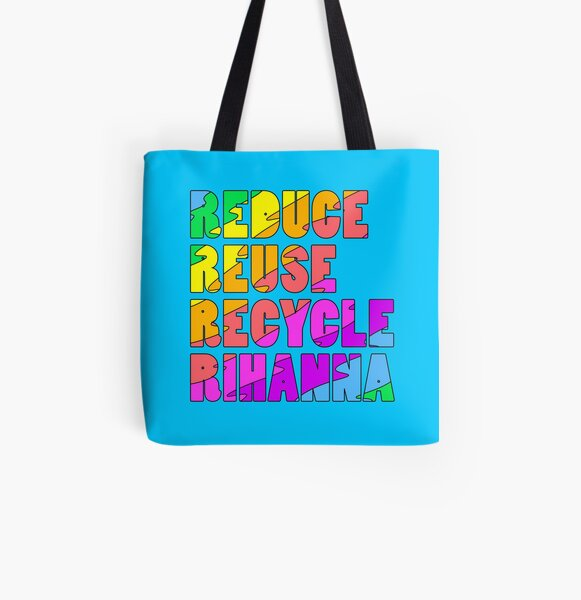 the four r's All Over Print Tote Bag