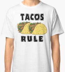 Cinco de Mayo Tacos Rule Classic T-Shirt