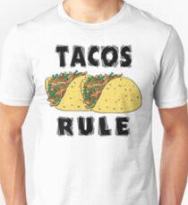 Cinco de Mayo Tacos Rule Unisex T-Shirt