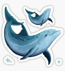 Riversoul ~ Bottlenose Dolphin Sticker