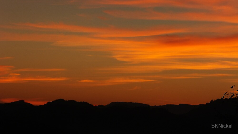 Fall Sunset by SKNickel