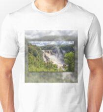 Tropical water fall Unisex T-Shirt