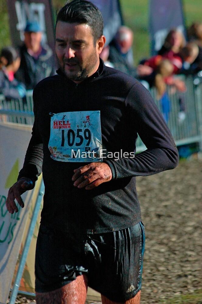 Simon Norris - Hell Runner Up North 2012 - Delamere Forest by Matt Eagles