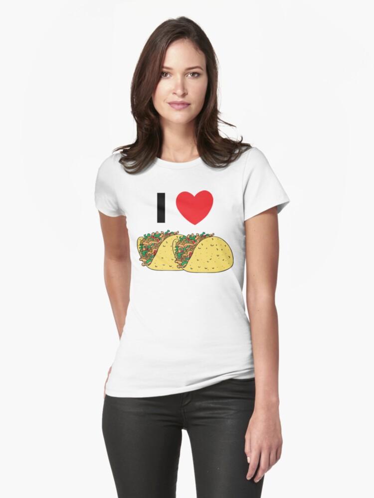 Cinco de Mayo I Love Tacos by HolidayT-Shirts