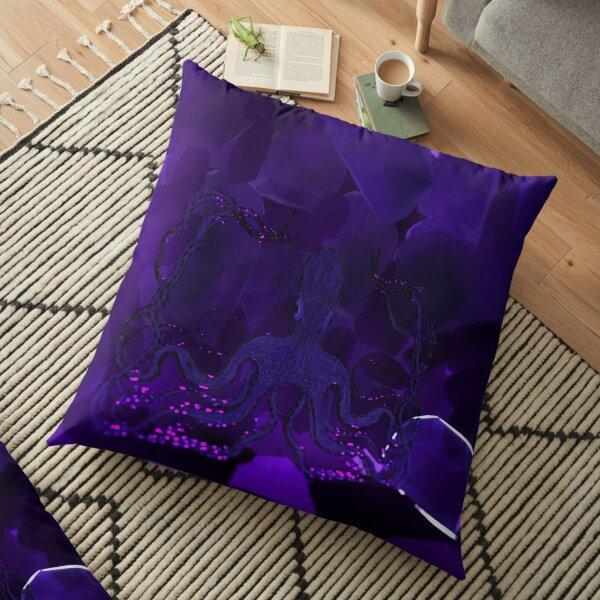 Purple Octopus Floor Pillow