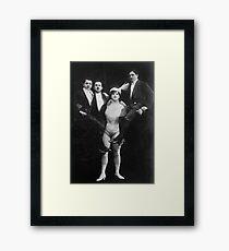 Work out T Shirt: Katie Sandwina - Lady Hercules Framed Print