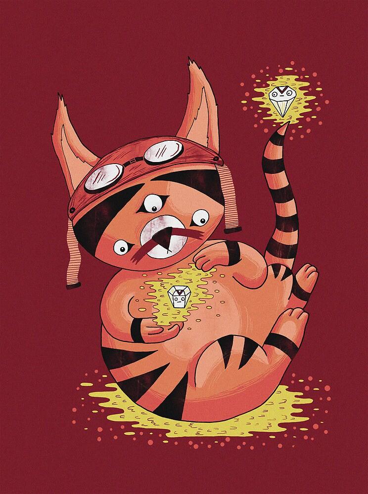 Cat Magic by Randyotter