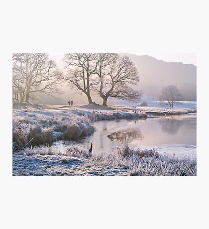 Frosty morning at the River Brathay - The Lake District Photographic Print