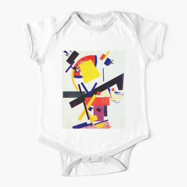 Супрематизм: Kazimir Malevich Suprematism Work Short Sleeve Baby One-Piece