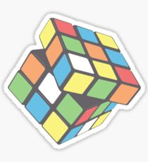 Rubix Cube - Plain Sticker