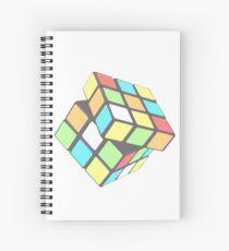 Rubix Cube - Plain Spiral Notebook