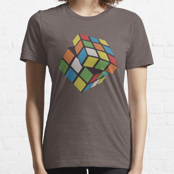 Rubix Cube - Plain Essential T-Shirt