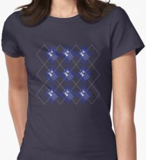 Time And Relative Dimension in ARGYLE Women's Fitted T-Shirt