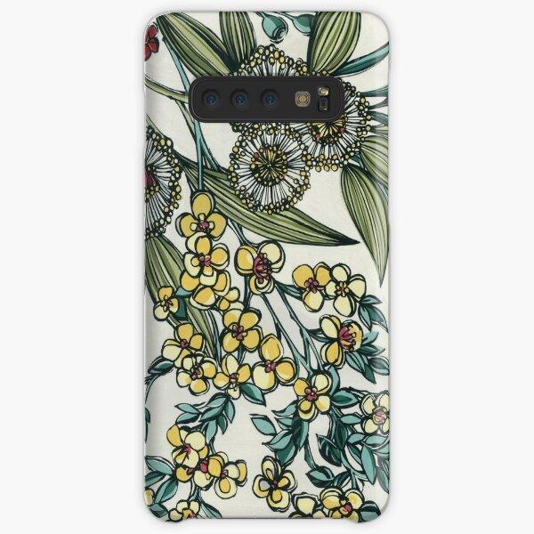 Retro Australian Native Floral Samsung Galaxy Snap Case