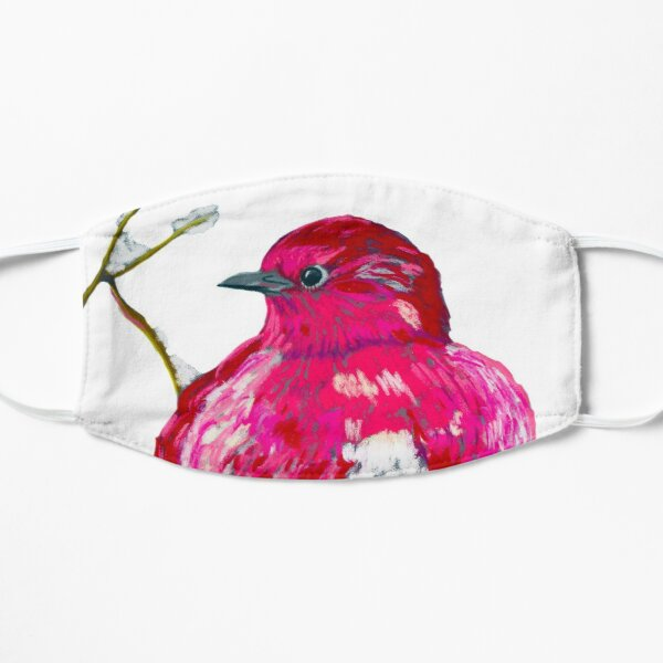 Fat Rose Bird Mask