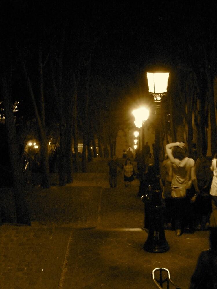 Descent | Montmartre, Paris, France by rubbish-art
