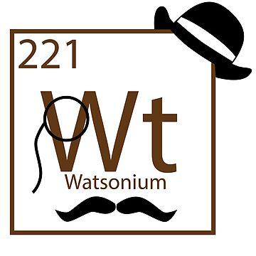 My Dear Watson is Elementary by BillCournoyer