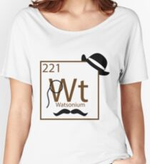 My Dear Watson is Elementary Women's Relaxed Fit T-Shirt