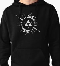 The legend of Zelda Triforce, White Pullover Hoodie