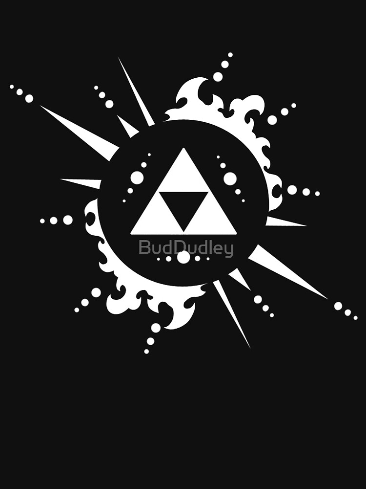 The legend of Zelda Triforce, White | Unisex T-Shirt