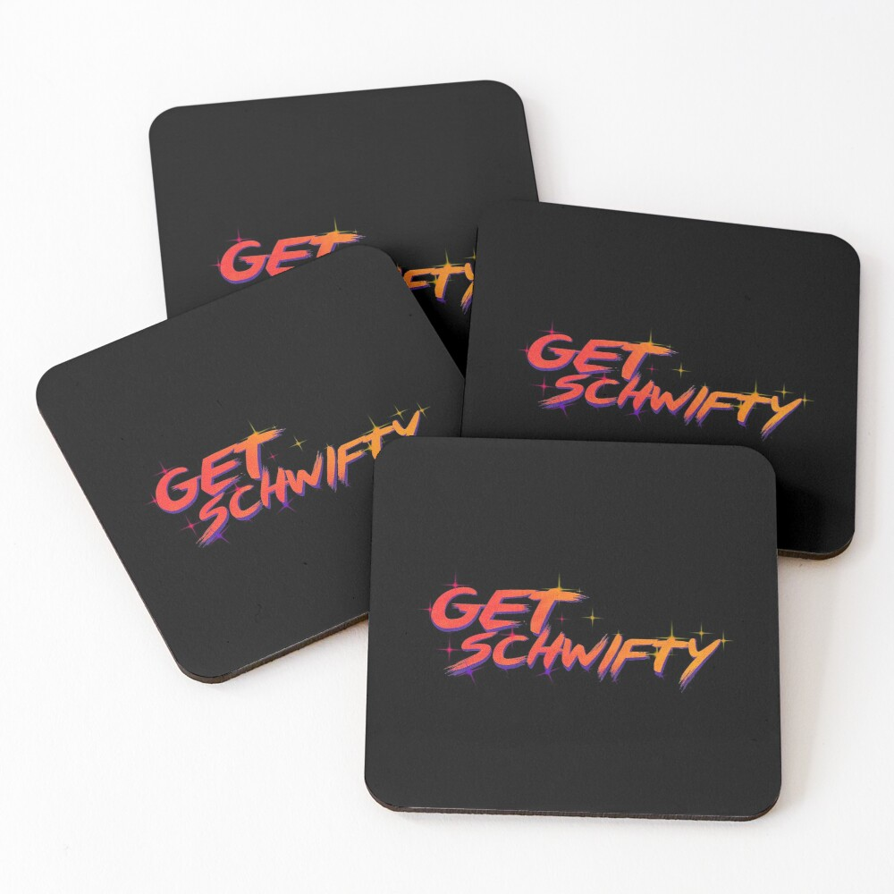 get schwifty rick and morty  Coasters (Set of 4)
