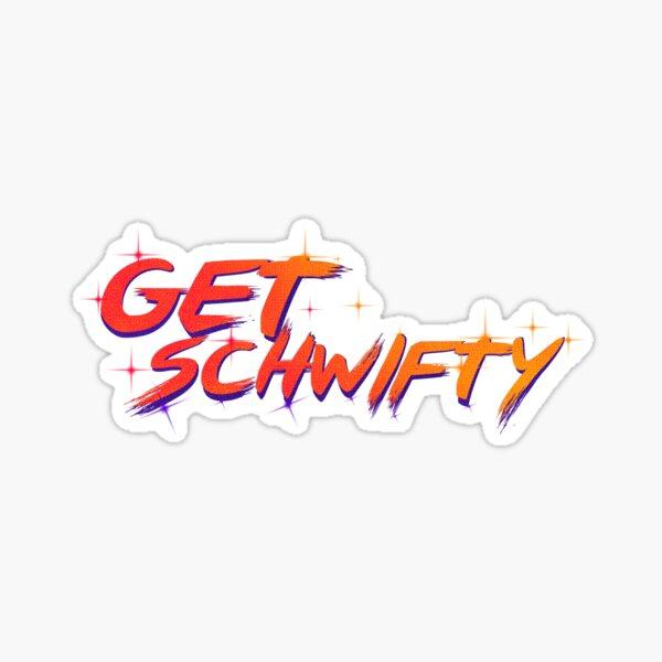 get schwifty rick and morty  Sticker