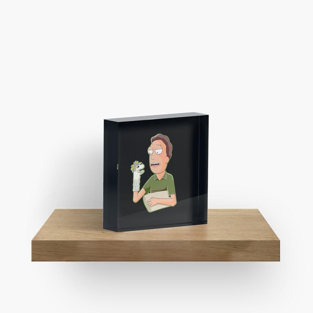 jerry smith  Acrylic Block