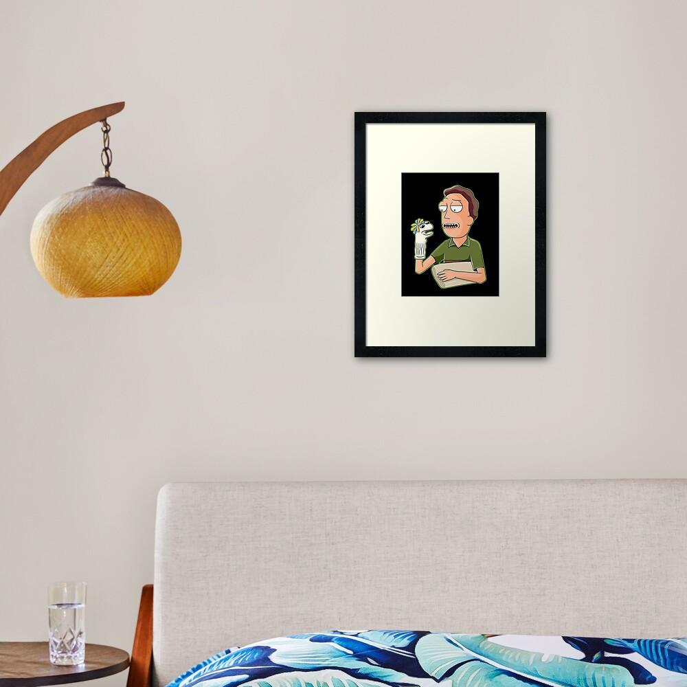 jerry smith  Framed Art Print