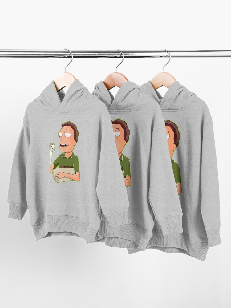 Alternate view of jerry smith  Toddler Pullover Hoodie