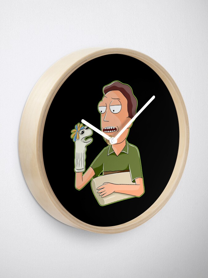 Alternate view of jerry smith  Clock