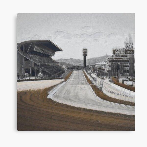 Circuit De Barcelona-Catalunya (Motorsport Race Track) I Canvas Print