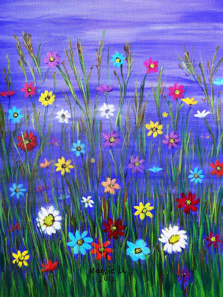 Wild flowers  by maggie326