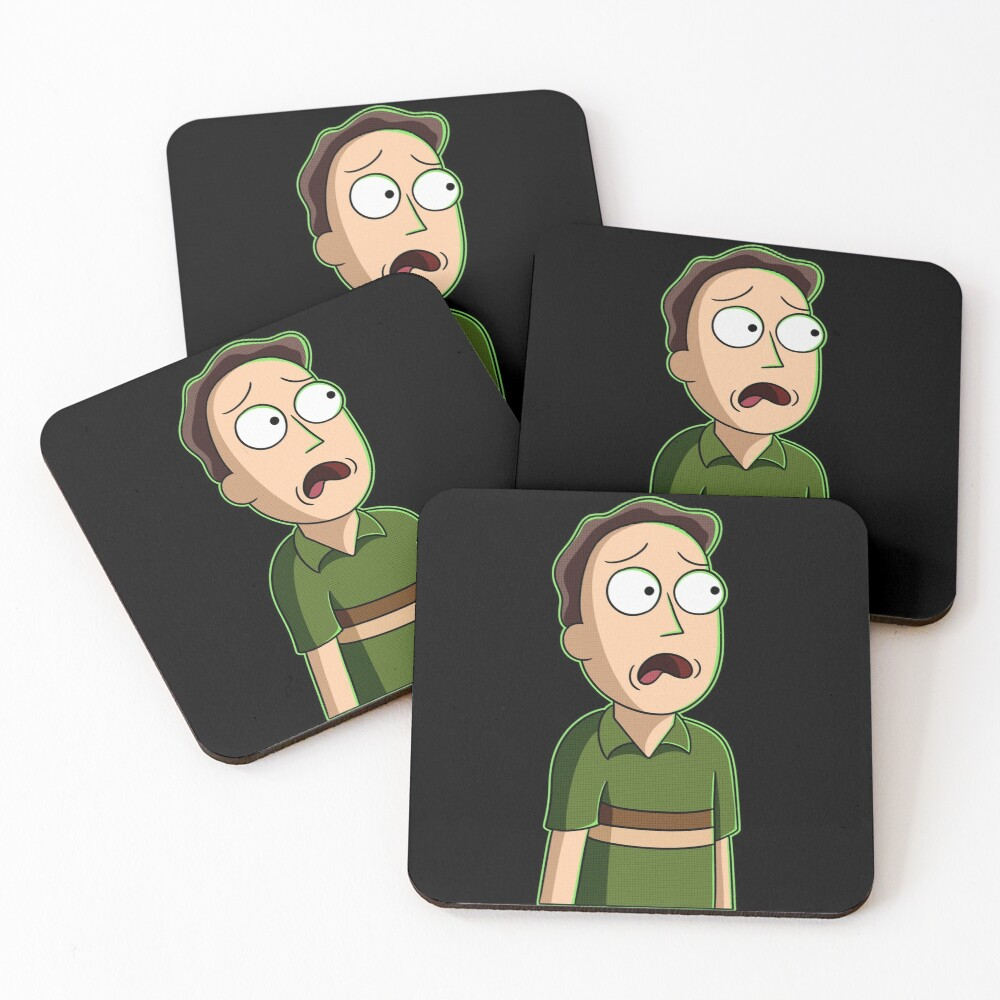 jerry smith  Coasters (Set of 4)