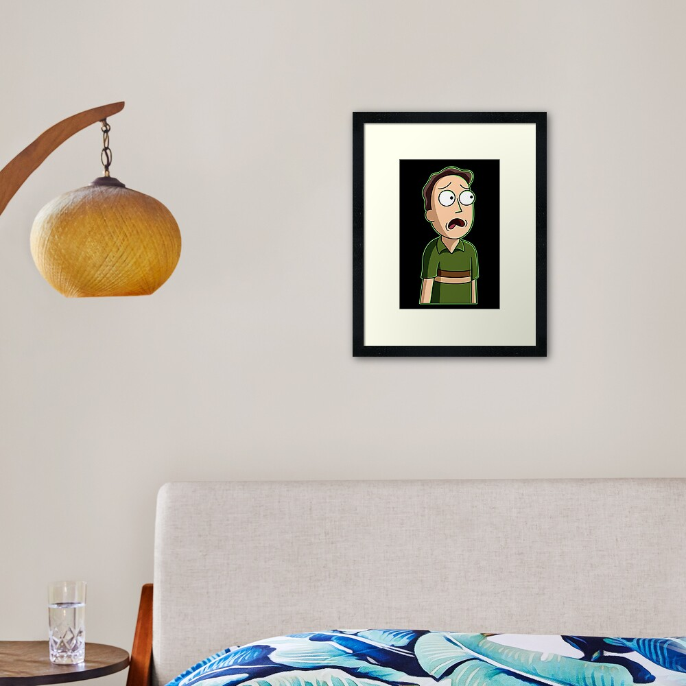 jerry smith  Framed Art Print
