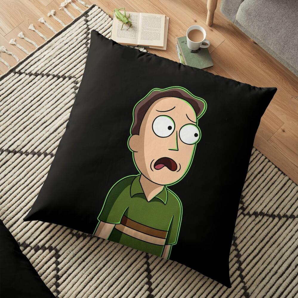 jerry smith  Floor Pillow