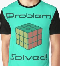 Rubix Cube - Problem Solved. Graphic T-Shirt