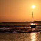 stradbroke island sunset by rodriguez