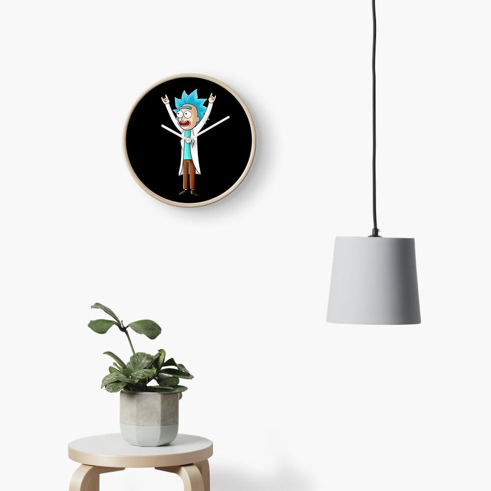tiny rick Clock