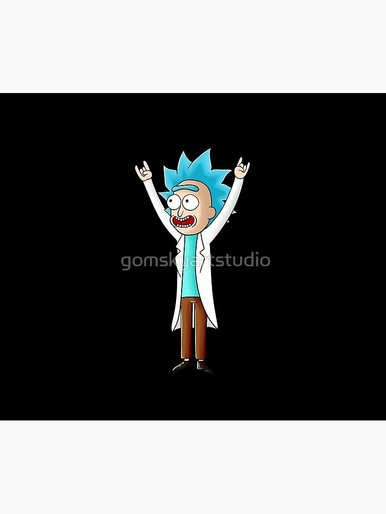 tiny rick by gomskyartstudio