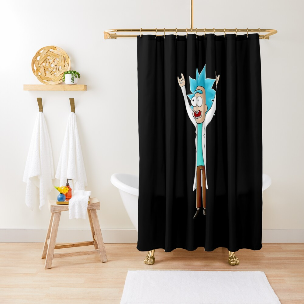 tiny rick Shower Curtain