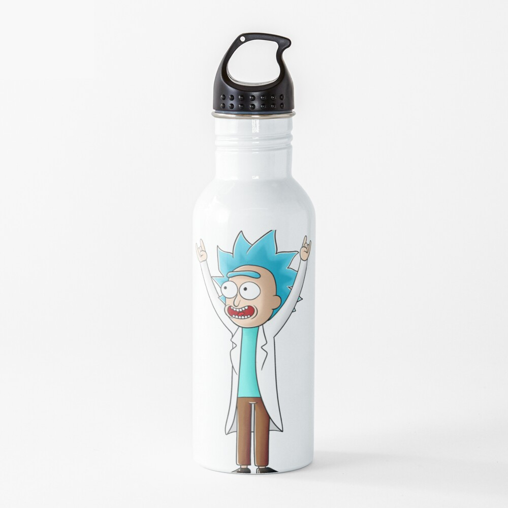tiny rick Water Bottle
