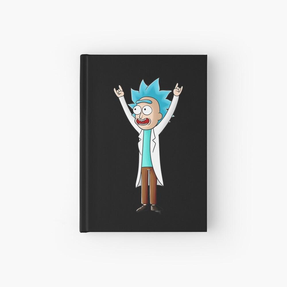 tiny rick Hardcover Journal